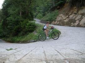 Prime pedalate in Valmadre