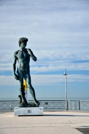 Pietrasanta: copia del David di Michelangelo