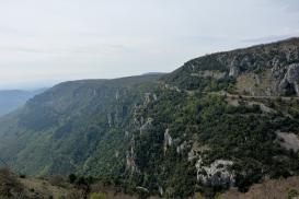 Gourdon: panorama sulle gorges du Loup