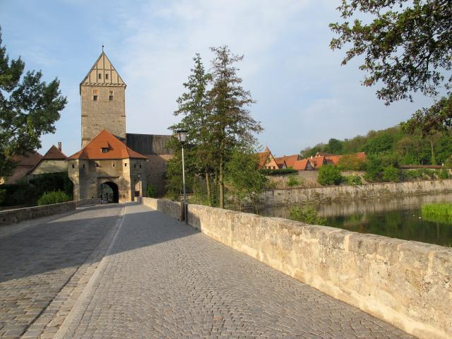 Dinkelsbühl: la Rothenburger Tor